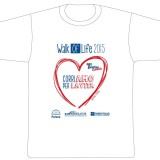 La t-shirt Walk of Life Catania 2015